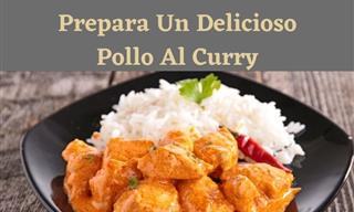 Receta De Un Sabroso Pollo Al Curry Para Consentir a Tu Familia