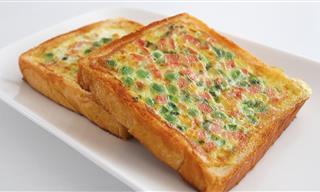 Fácil y Rica Receta Para El Desayuno