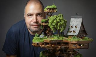 ¡El Trabajo Artístico En Este Pueblo En Miniatura Es Asombroso!