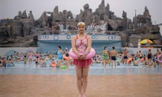 Un Fotógrafo Recogió Las Diferencias Entre Las Dos Coreas