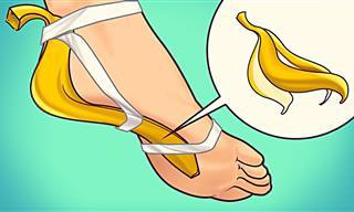 Aplica La Cáscara De Plátano Por 7 Días