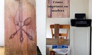 Cómo Imprimir Fotos Sobre Madera