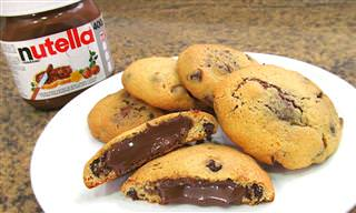 Prepara Unas Galletas Chocolate Chip Cookies Con Nutella