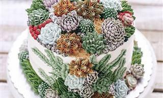Los Pasteles Florales Más Hermosos Del Mundo