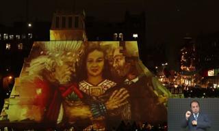 Maravilloso Espectáculo De Luces De La Maqueta Del Templo Mayor