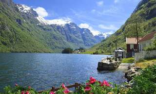 Recorriendo Espectaculares Paisajes Noruegos