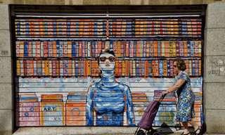 Los Fascinantes Murales Animados De A. L. Crego