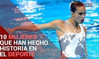 10 Mujeres Que Han Hecho Historia En El Deporte