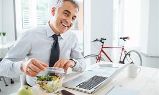 Aprende a Comer Saludable En La Oficina