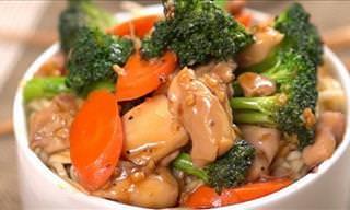 Receta Del Tradicional y Delicioso Pollo Teriyaki