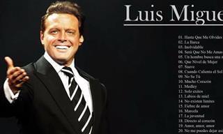 ¿Puedes Identificar Las Canciones De Luis Miguel Con Una Frase?