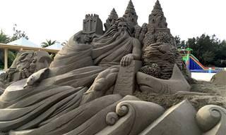 Las Esculturas De Arena Más Maravillosas Que Jamás Viste