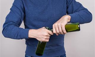 6 Formas Prácticas De Abrir Una Botella Sin Abrebotellas