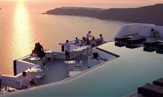 Un Impresionante Video Enn 4K De Santorini En Grecia