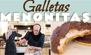 Receta De Galletas Menonitas Con Grenetina y Cubiertas De Chocolate