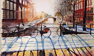 Arte Dentro Del Arte: Ciudades Europeas Como Inspiración