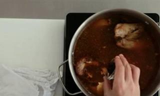 Prepara El Mejor Caldo De Pollo Casero