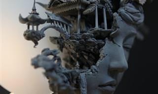 Las Magníficas Esculturas De Arcilla De Yuanxing Liang