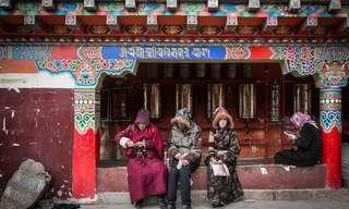 El Pueblo Chino Habitado Sólo Por Monjes