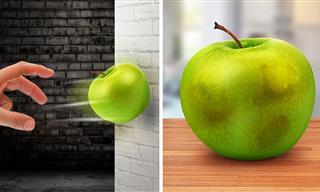¿Conoces El Secreto De Golpear Una Manzana?