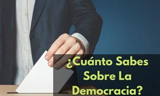 Test: ¿Cuánto Sabes Sobre La Democracia?