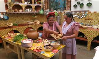 Chef Mexicana Prepara Deliciosos Platillos Prehispánicos