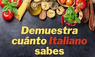 Demuestra Si Sabes Un Poco De Italiano