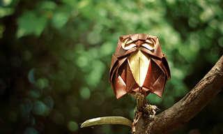 ¡Increíbles Figuras De Origami!