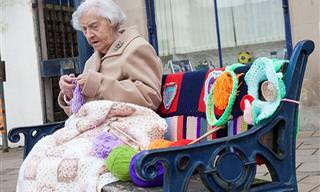 Una Artista Callejera De 104 Años
