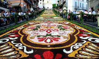 El Festival Italiano de Las Flores