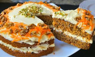 Prepara Una Carrot Cake. Muy Fácil y Riquísima