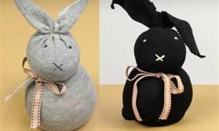A Los Más Pequeños Les Encantará Este Conejo De Pascua