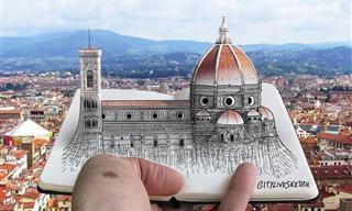 Los Dibujos Artísticos De Pietro Catudella