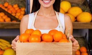 Los 5 Beneficios De Las Guayabas y De Las Mandarinas