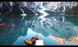 Recorrido Virtual  A Través De Los Alpes En Europa