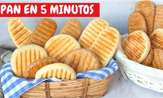 Este Pan En 5 Minutos Te Ahorrar Tiempo y Dinero