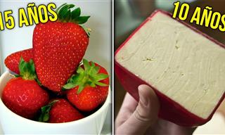 ¡Increíble! Estos Alimentos Tardan Mucho Tiempo En Caducar
