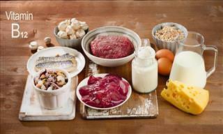 Cómo Beneficia La Vitamina B12 a Todo Tu Cuerpo