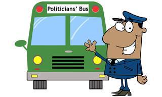 Un Grupo De Políticos En Un Autobús Se Estrella Contra Un Árbol