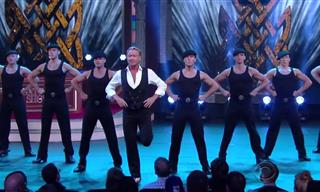 Una Formidable Actuación De Baile De Música Irlandesa