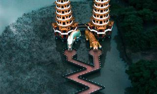 Asombrosas Fotografías De Drones De Templos En Asia