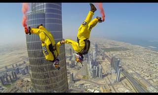 Dos Jóvenes Franceses Saltan Al Desde Edificio En Dubai