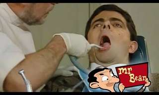 Un Clásico De La Comedia: Mr Bean Vs El Dentista