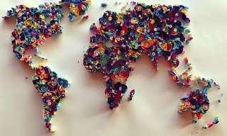 El Colorido Arte Con Papel De Sena Runa