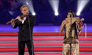 Increíble Interpretación Con Flauta Del Clásico Hallelujah