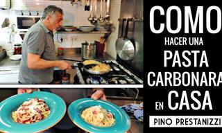 Aprende a Hacer Una Pasta Carbonara En Casa