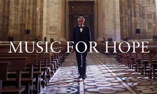 Andrea Bocelli Canta Por La Esperanza Desde La Catedral De Milán