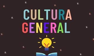 Test De Cultura General: Pon a Prueba Tus Conocimientos