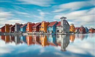 Reflejos En El Agua. 20 Imágenes De Perfecta Simetría
