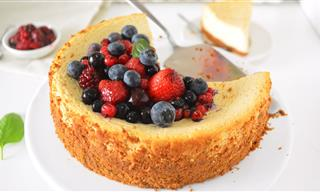 Prueba El Cheesecake Más Saludable Del Mundo
